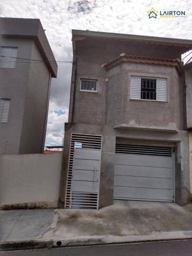 Casa Com 3 Dormitórios À Venda, 160 M² Por R$ 395.000,00 - Jardim Imperial - Atibaia/sp - Ca2303