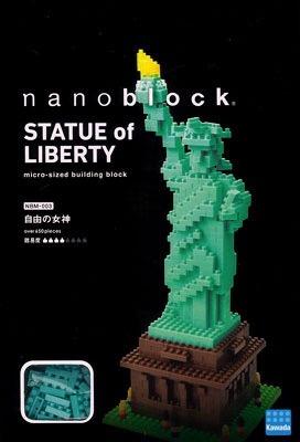 Nanoblock Estatua De La Libertad Architecture Juguete Regalo