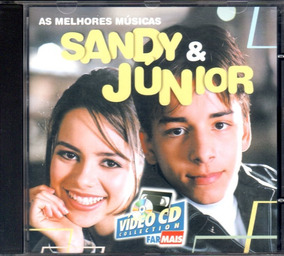 Cd Sandy E Junior Rede Farmais Promocional Excelente Estado!