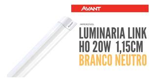 Tubular Led Link Ho 20w Avant 1150mm Branco Neutro 4000k
