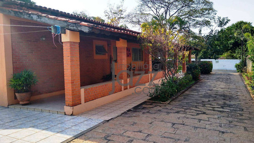Chácara Com 4 Dormitórios À Venda, 2000 M² Por R$ 850.000,00 - Condomínio Chácaras Flórida - Itu/sp - Ch0472