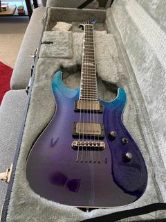 Guitarra Esp E-ii Horizon Blue Purple Oferta Por Febrero