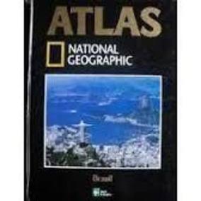 Livro Atlas National Georgraphic Brasil Abril Coleções