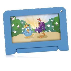 Tablet Galinha Pintadinha Quad C. 8gb Wifi Azul Nb282