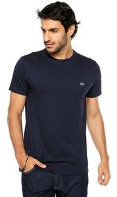 Camisa Camiseta Lacoste Básica Masculina Promoção Regular Ft
