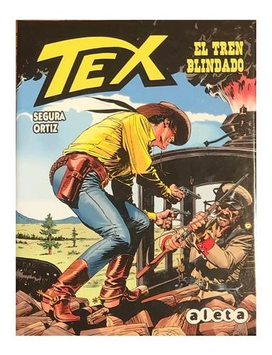 Imagen 1 de 3 de Tex - El Tren Blindado - Aleta Ed. - Spaghetti Western
