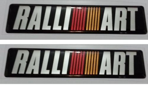 Kit Adesivo Ralli Art 2 Unidades Resinado