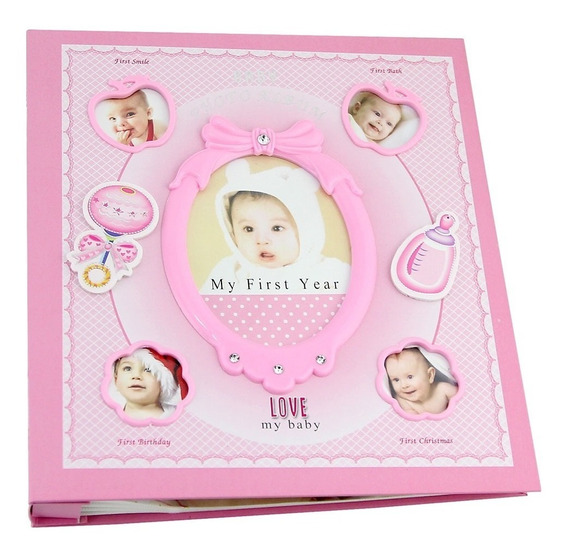 Álbum Fotográfico Bebê 120 Fotos 10x15cm Capa Personalizável