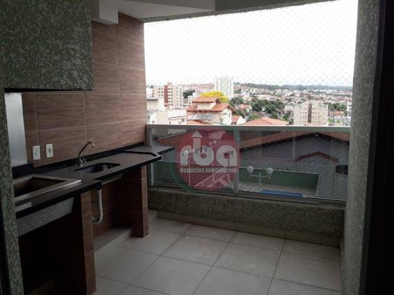 Apartamento No Jardim Gonçalves Com Varanda Com 2 Dormitórios Para Alugar, 67 M² Por R$ 1.090/mês - Jardim Gonçalves - Sorocaba/sp - Ap0885
