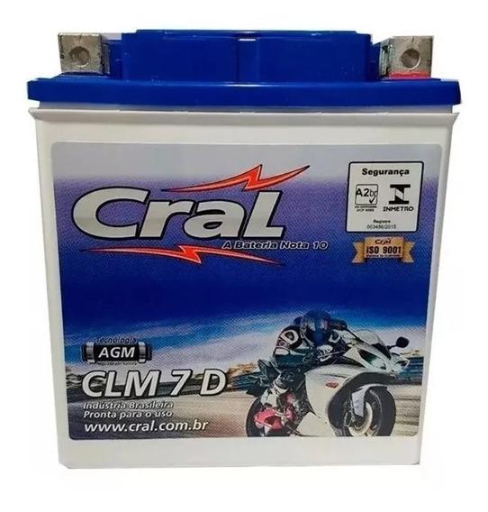 Bateria Ytx7l-bs Clm7d Cral Cbx Twister 250 Fazer 250 Cb 300