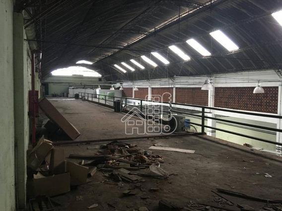 Galpão Para Alugar, 9999 M² Por R$ 200.000,00/mês - São Lourenço - Niterói/rj - Ga0009