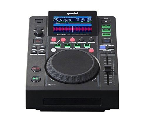 Gemini Mdj Series Mdj 600 Professional Audio Dj Media Playe