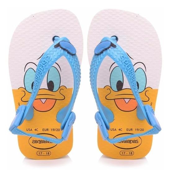 Ojotas Disney Baby Clasicos Donald Havaianas - Mundo Manias