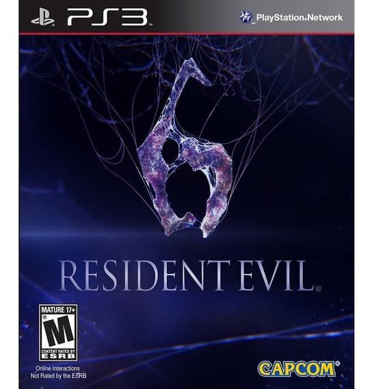 Resident Evil 6 Ps3 Leg Em Português Digital 12 Gb