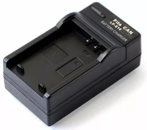 Carregador Lp-e10 Para Eos Kiss X50 - Eos Rebel T3 T5