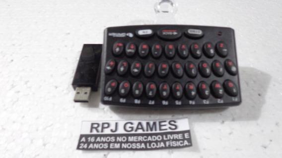 Mini Teclado Leadership Gamer P/ Ps3 - Loja Centro Rj