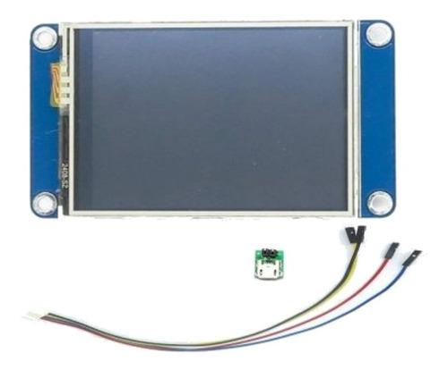 Display Lcd 2.4 Nextion Hmi Tft Nx3224t024 Arduino