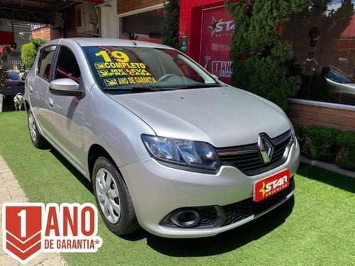 Renault Sandero Expression 1.0 2019 Starveículos