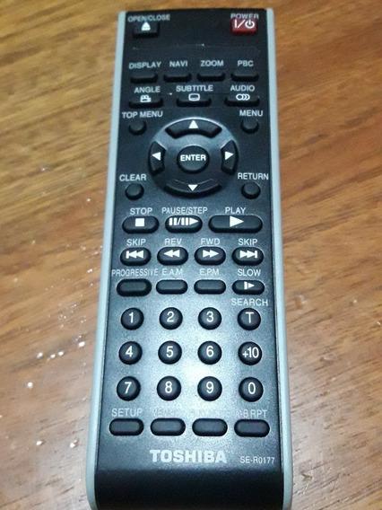 Controle Remoto Dvd Toshiba Se-r0177 Original Novo!!!