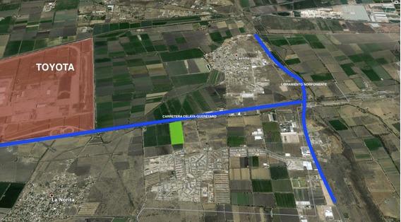 Terreno En Venta Cerca De Planta Toyota, Carretera Celaya