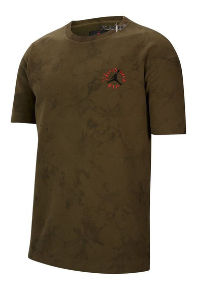 Camiseta Grossa Nike Air Jordan Travis Scott Cactus Jack Xg