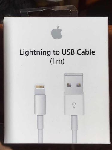 Cable Usb Lightning Para iPhone iPad De 1 Metro Original!