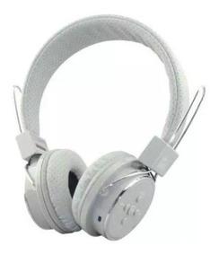 Fone Ouvido Headphone Sem Fio Bluetooth Micro Sd Fm + Brinde