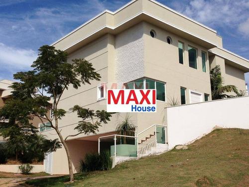 Casa À Venda No Burle Marx, 370 M²,  4 Suítes, 3 Vagas, Alameda Vangogh - Alphaville Burle Marx - Santana De Parnaíba/sp - So0070
