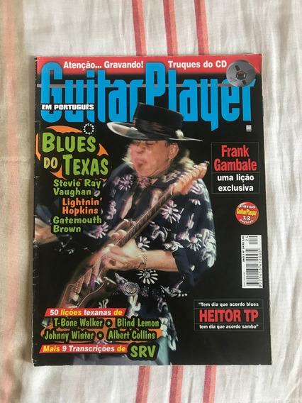 Revista Guitar Player N°24 Steve Ray Vaughan Janeiro 1998