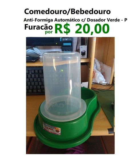 Comedouro E Bebedouro Anti-formiga Automático Com Dosador -e