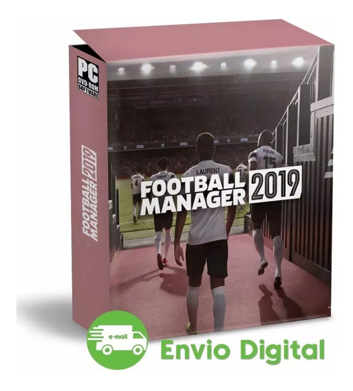 Football Manager 2019 Português Envio Digital