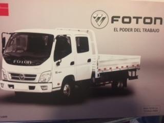 Camión Fotón Doble Cabina 0km Con Caja// Precio Leasing