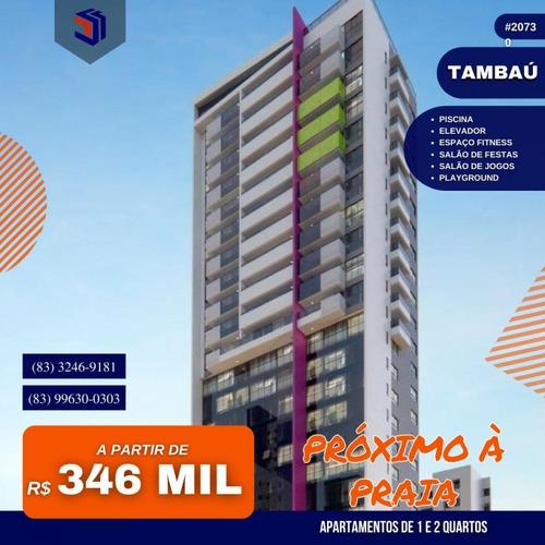 Imagem 1 de 10 de Apartamento Para Venda Em João Pessoa, Tambaú, 2 Dormitórios, 1 Suíte, 2 Banheiros, 1 Vaga - 2073_1-1885416