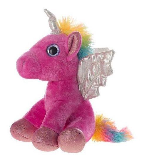 Pelucia De Unicornio 9,5 Rosa - Shiny Toys
