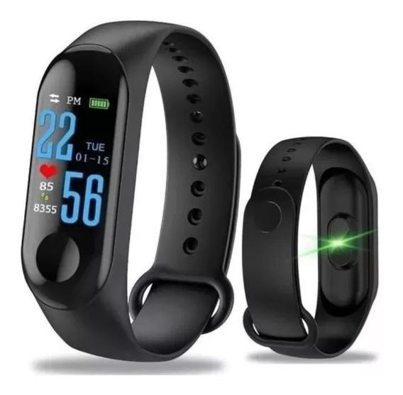 Pulsera Reloj Deportes M3 Inteligente Monitor Cardíaco