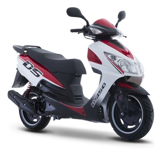 Moto Italika Ds 150 Blanco Rojo
