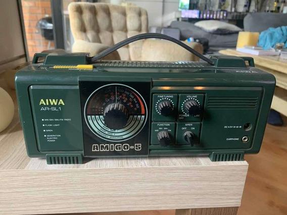 Aiwa Rádio Vintage Ar Sl 1 Amigo 5