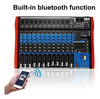 Mixer Mezclador De Audio Usb Bluetooth