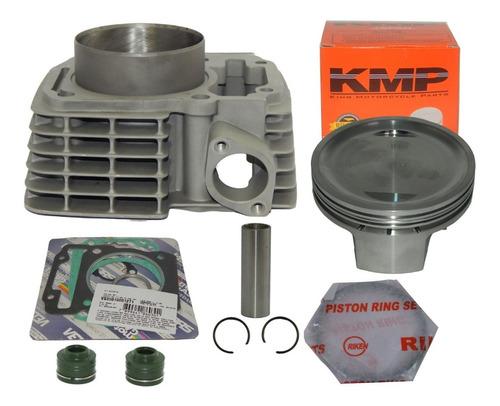 Imagem 1 de 3 de Kit 70mm Forjado 220cc Kmp P/titan 150 Bros 150