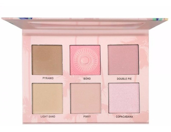 Paleta Ruby Rose Cheek Play Blush/contorno/ Iluminador 7502