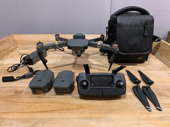 Drone Dji Mavic Pro Com 2 Bat E Bolsa - Pouquissimo Usado