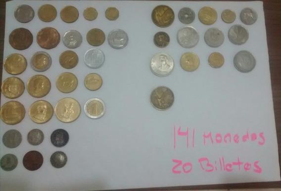 Monedas Y Billetes Antiguos De Argentina Y Otros Países