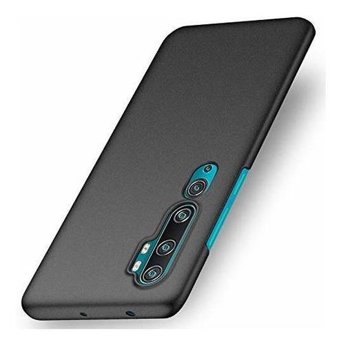 Imagen 1 de 7 de Funda Xiaomi Mi Note 10/mi Cc9 Pro/note 10 Pro-(grava Negro)