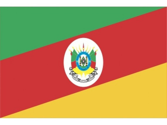 10 Adesivo Impresso Bandeira Rio Grande Do Sul- 20cm X30cm