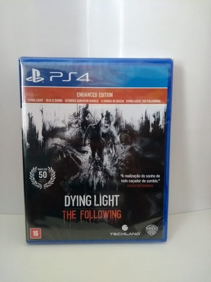 Dying Light The Fallowing Ps4 Enhanced Edition Midia Fisica