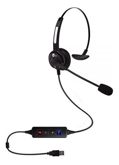 Headset Htu-300 Usb