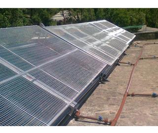 Malla Antigranizo Colector Solar