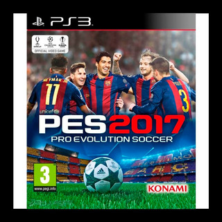 Pro Evolution Soccer 2017 Pes 17 Ps3 Aceptamos Oxxo