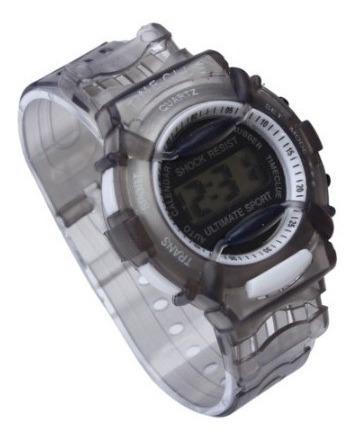 Reloj Digital Timeclue Silicon Gris