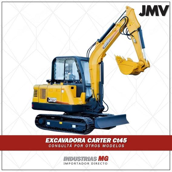 Excavadora Carter Ct45 De 4500kg Mecanica 100% Japon Aire